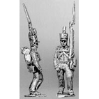 Centre company, marching, shoulder arms
