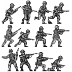 Infantry squad, advancing