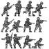 Infantry squad, advancing