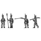 Foot Artillery, crew, firing