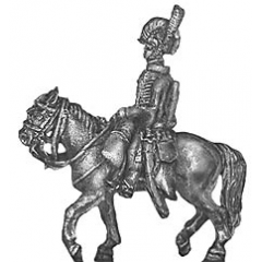 RHA officer, mounted