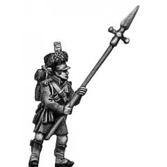 Highland sergeant, pike