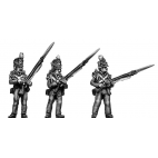 Flank Company, standing, port arms