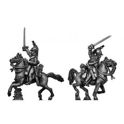 Heavy Dragoons charging
