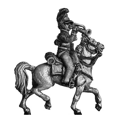 British Household Cavalry trumpeter