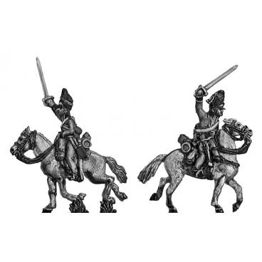 2nd Dragoons Scots Greys charging
