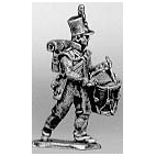 Light infantry drummer