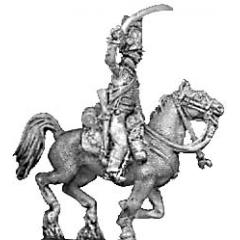 KGL Hussar, charging