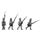 Hungarian Fusiliers advancing