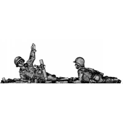 60mm mortar, firing