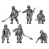 Mine clearing team