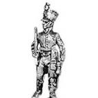 Hungarian fusilier officer, shako