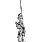 Hungarian grenadier standard bearer