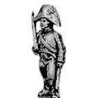 Landwehr officer, cocked hat