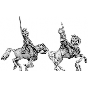 Dragoon/Chevauleger, charging