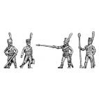 Horse artillery crew, hussar uniform, shako