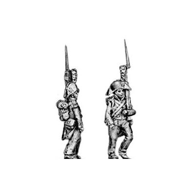 Line grenadier, advancing
