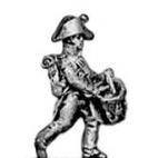 Line infantry drummer