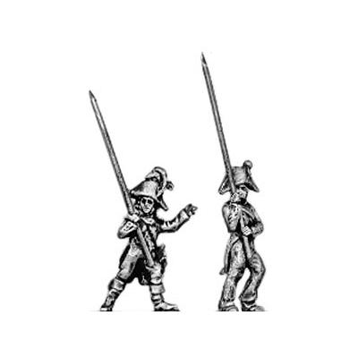 Line infantry standard bearer