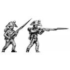 Line infantry, skirmishers, bicorne