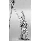 Light infantry standard bearer