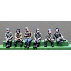 Tank crew seated variants