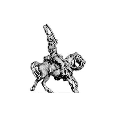 Hussar officer, shako