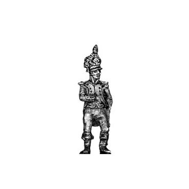 Foot artillery officer