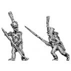 Voltigeur, covered shako, skirmishing