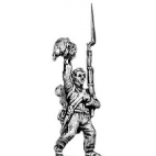 Enthusiastic infantry set (five figures)