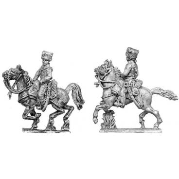 Horse artillery gunner, mounted