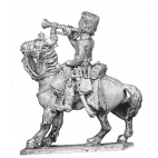 Horse artillery officer, mounted
