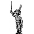 Officer, with sword (musketeers and grenadiers)