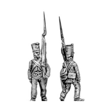 Fusiliers, marching