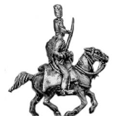 Hussar officer, mirliton