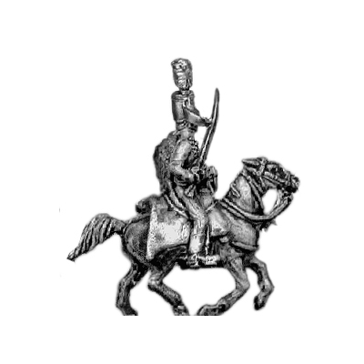 Hussar officer, mirliton