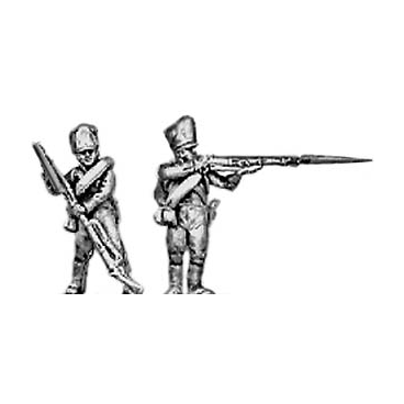 Musketeer, firing and loading