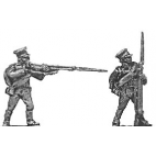 Reserve infantry, firing & loading, caps and jacket