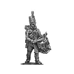 Reserve infantry drummer, English uniform