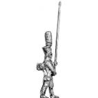 Grenadier standard bearer, shako