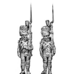 Chasseur of the Guard, at attention