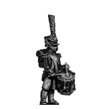 Young Guard Drummer, 1809-12 uniform