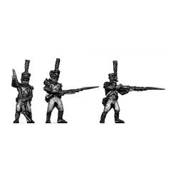 Young Guard Voltigeur, 1810 uniform, skirmishing