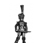 Young Guard Voltigeur Officer, 1810 uniform