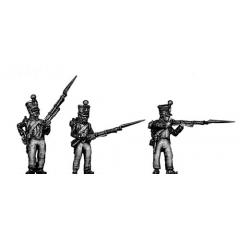Young Guard, 1814 uniform, skirmishing