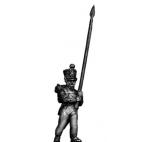 Young Guard Standard Bearer, 1814 uniform
