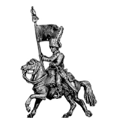 Chasseur a Cheval Guidon bearer