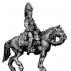 General Dorsenne, mounted