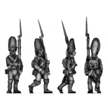 Grenadier, fur cap, marching