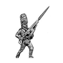 Grenadier, fur cap, advancing
